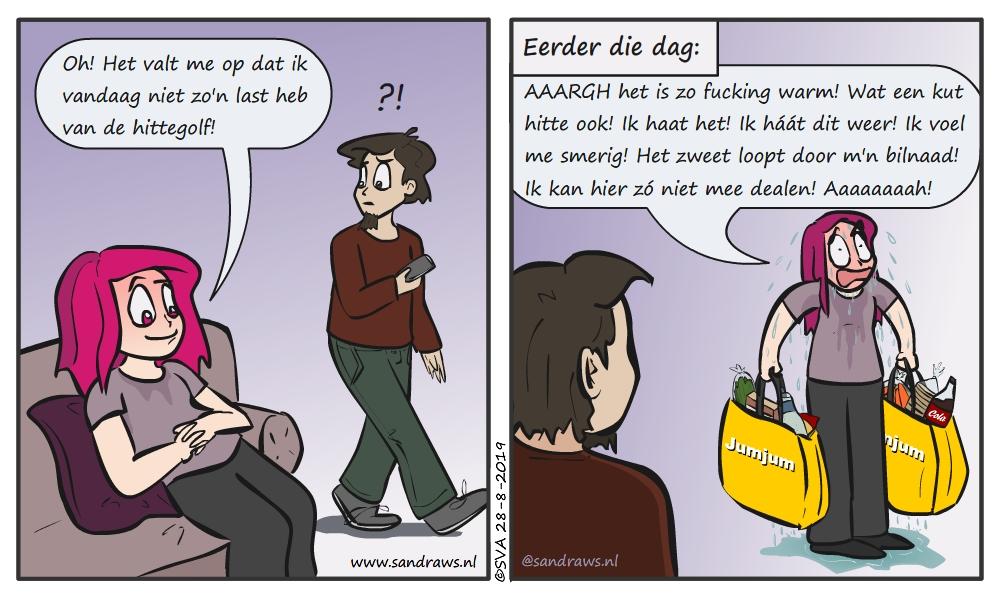haat de hitte - strip
