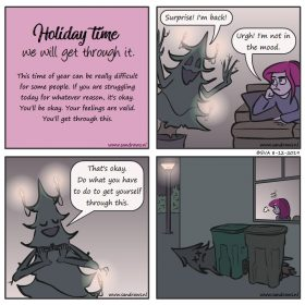 Holiday time - comic