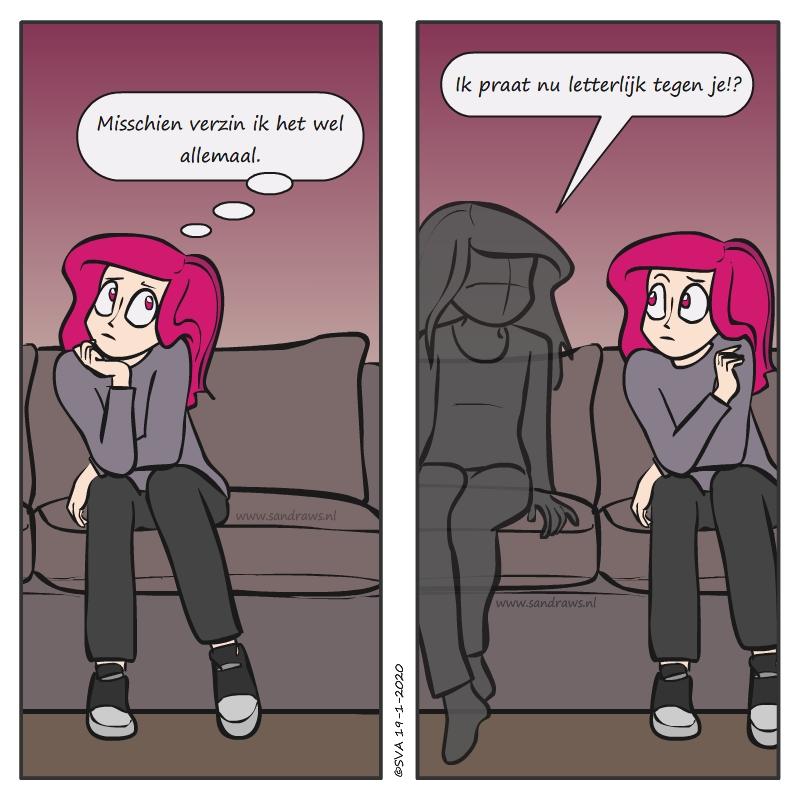 twijfelen - strip