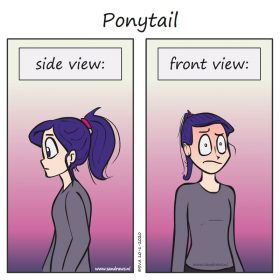 ponytail comic