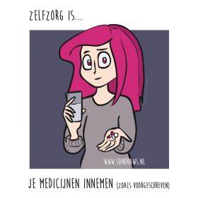 zelfzorg is medicijnen innemen