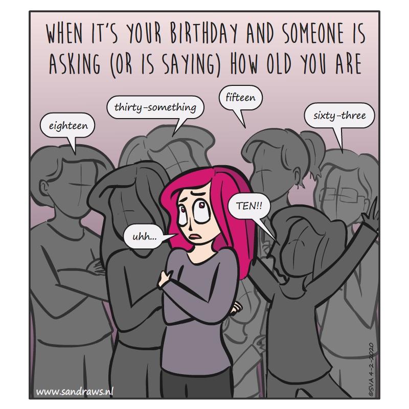 birthday did problems