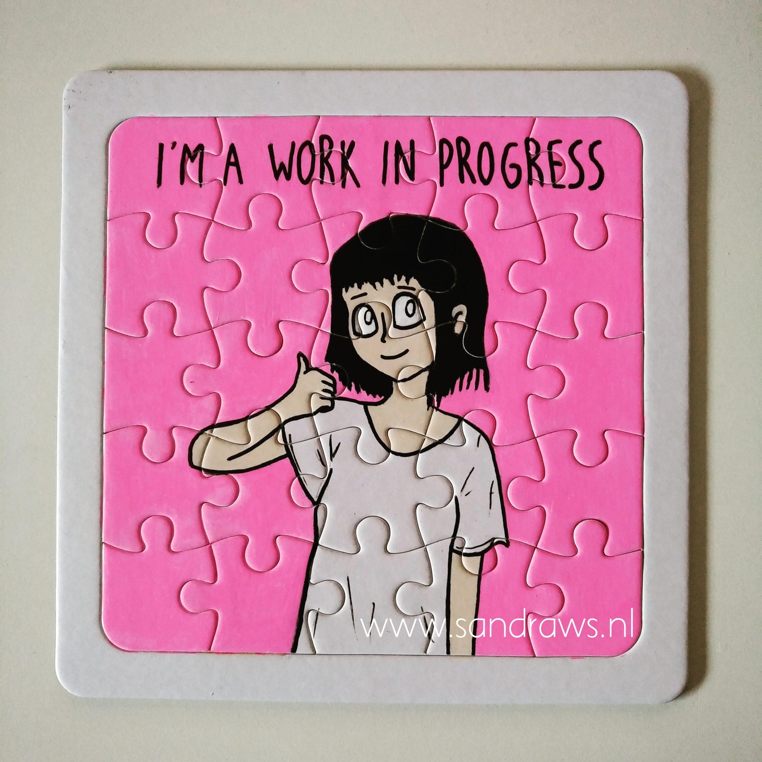 puzzle pieces - illustration