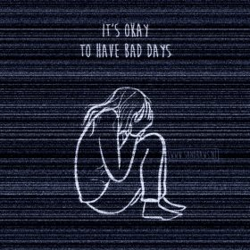 bad days - illustratie