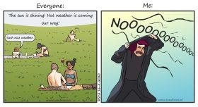 Hitte komt eraan - comic
