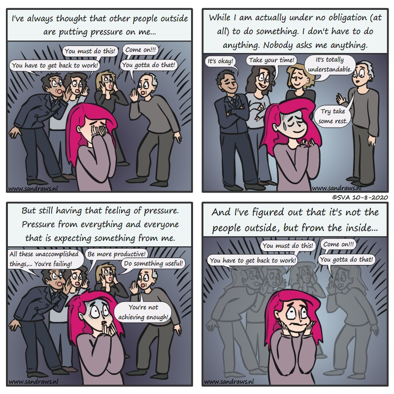 feeling pressure - comic