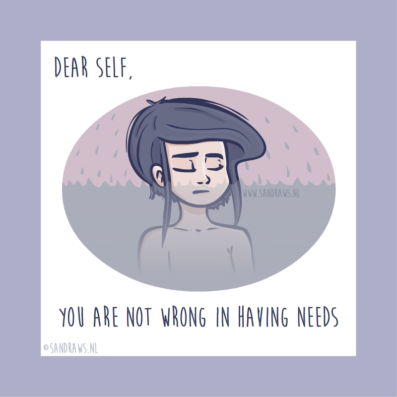 dear self - illustration