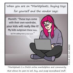 buying toys - hokje 1