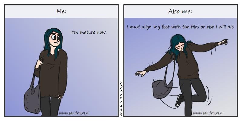 I'm mature now - comic