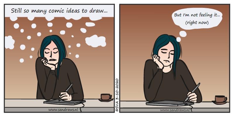 not feeling it - comic