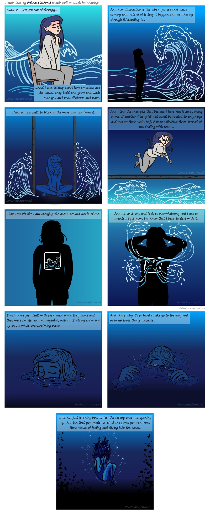 ocean of feelings - comic