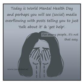 World mental health day comic