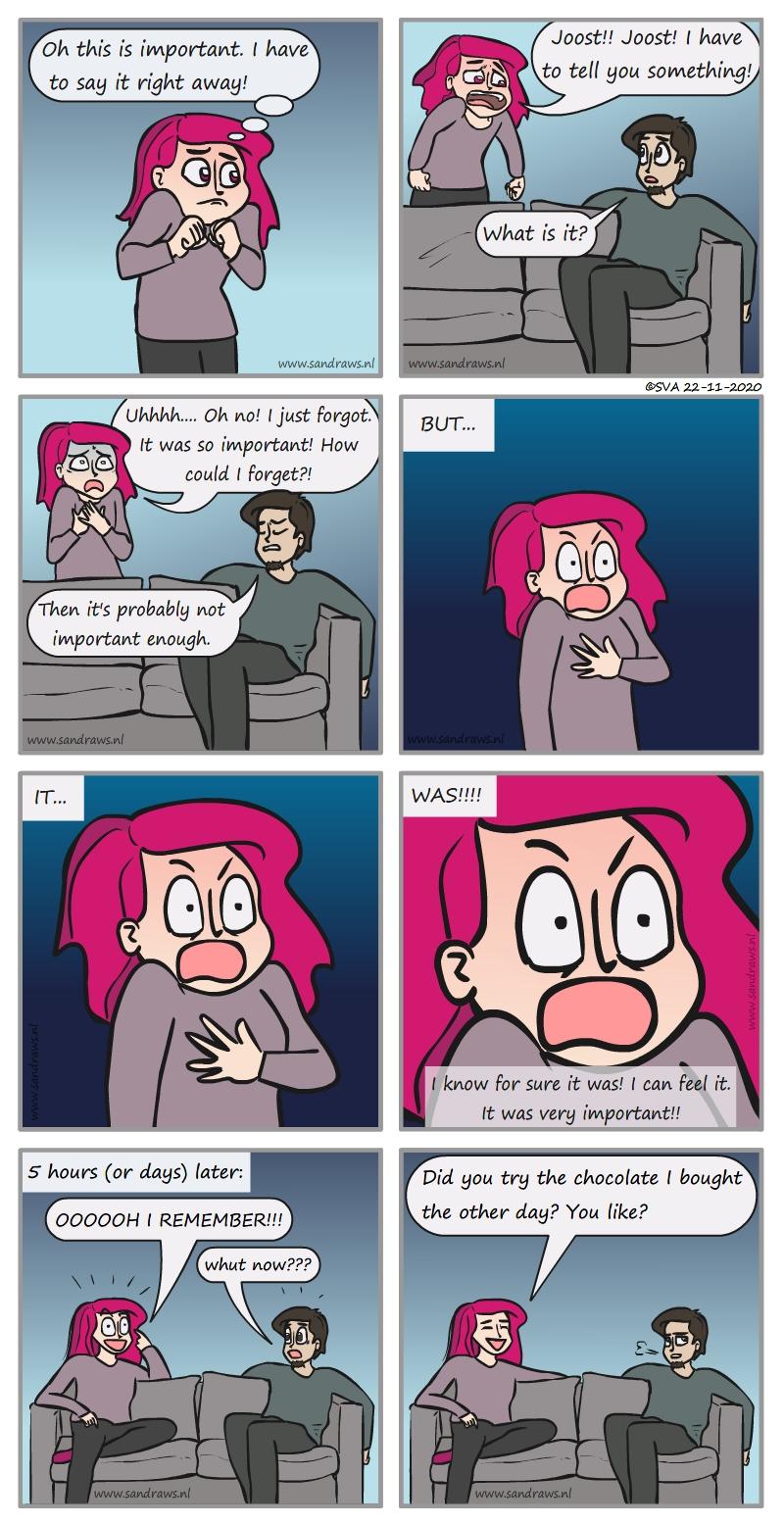 something important - comic