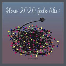kerstkaart - how 2020 feels
