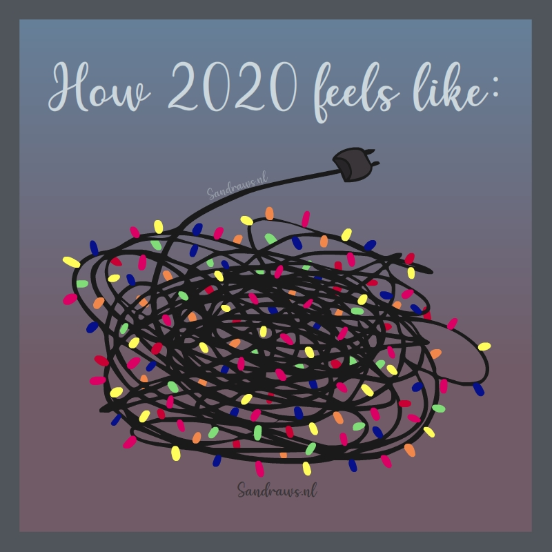 kerstkaart - how 2020 feels