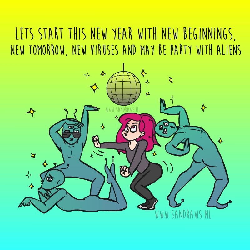 new beginnings - illustratie