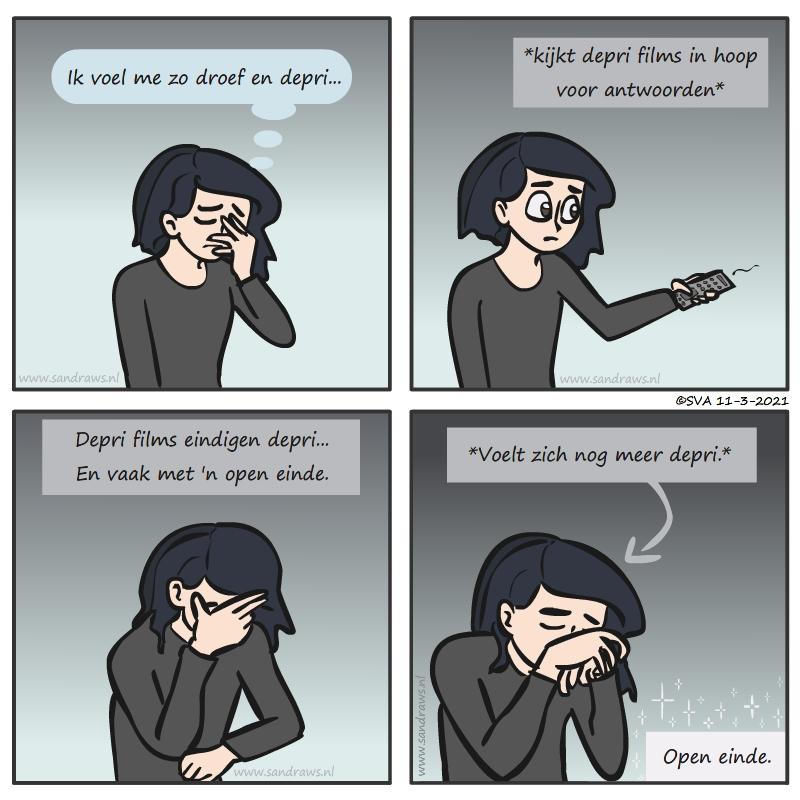 Open end comic