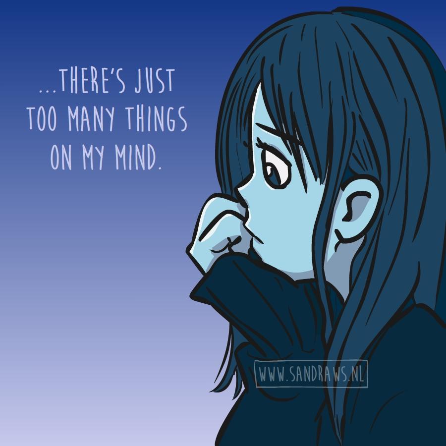 on my mind - illustratie