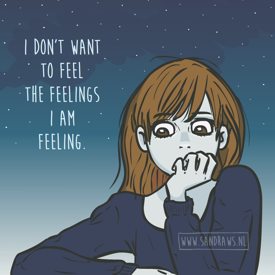 the feelings - illustration
