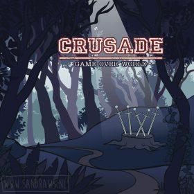 Crusade - voorkant - game over world