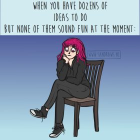 dozens of ideas - meme illustration
