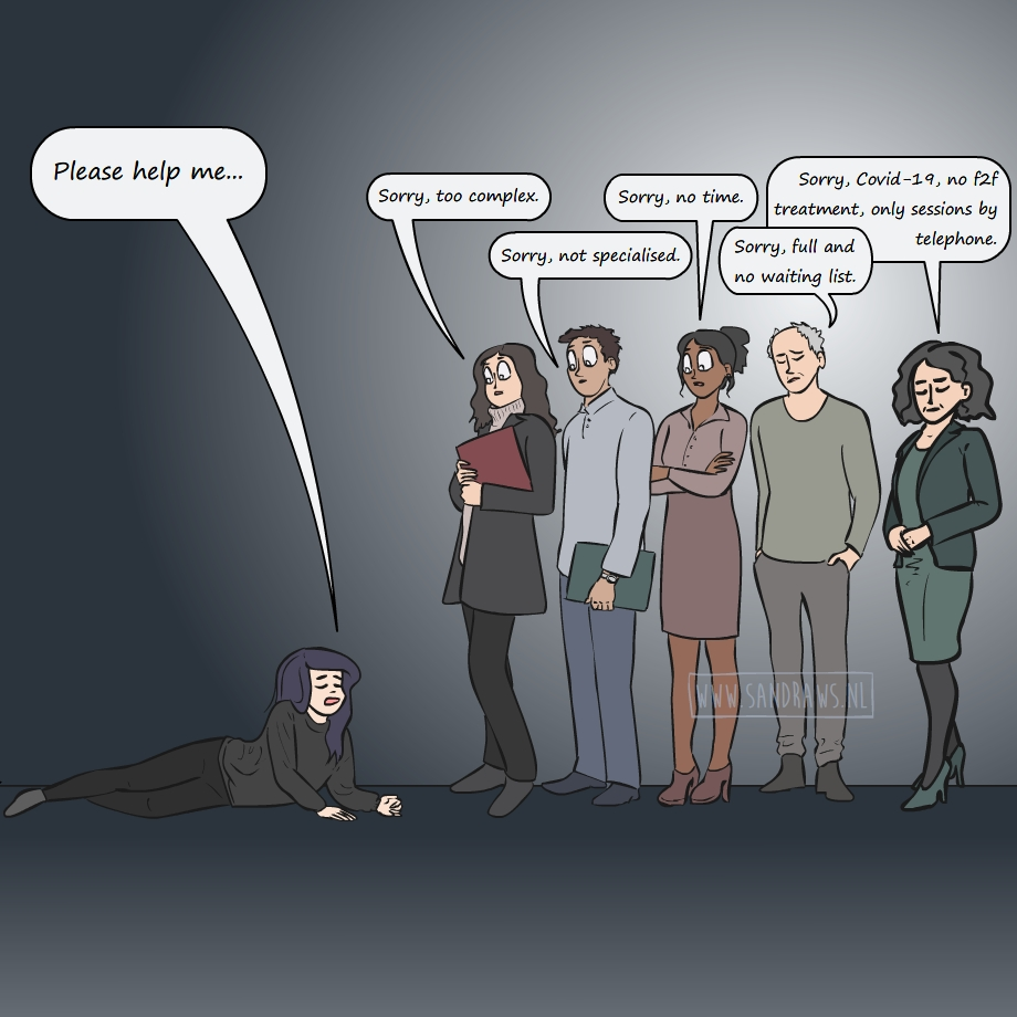 help me - illustration